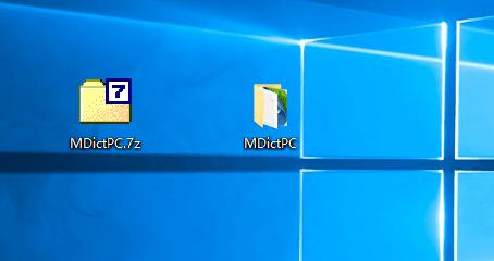 Windows上使用Mdict