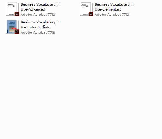 [搬运][英语]Cambridge English Vocabulary in Use最全合集!包括书籍和CD!
