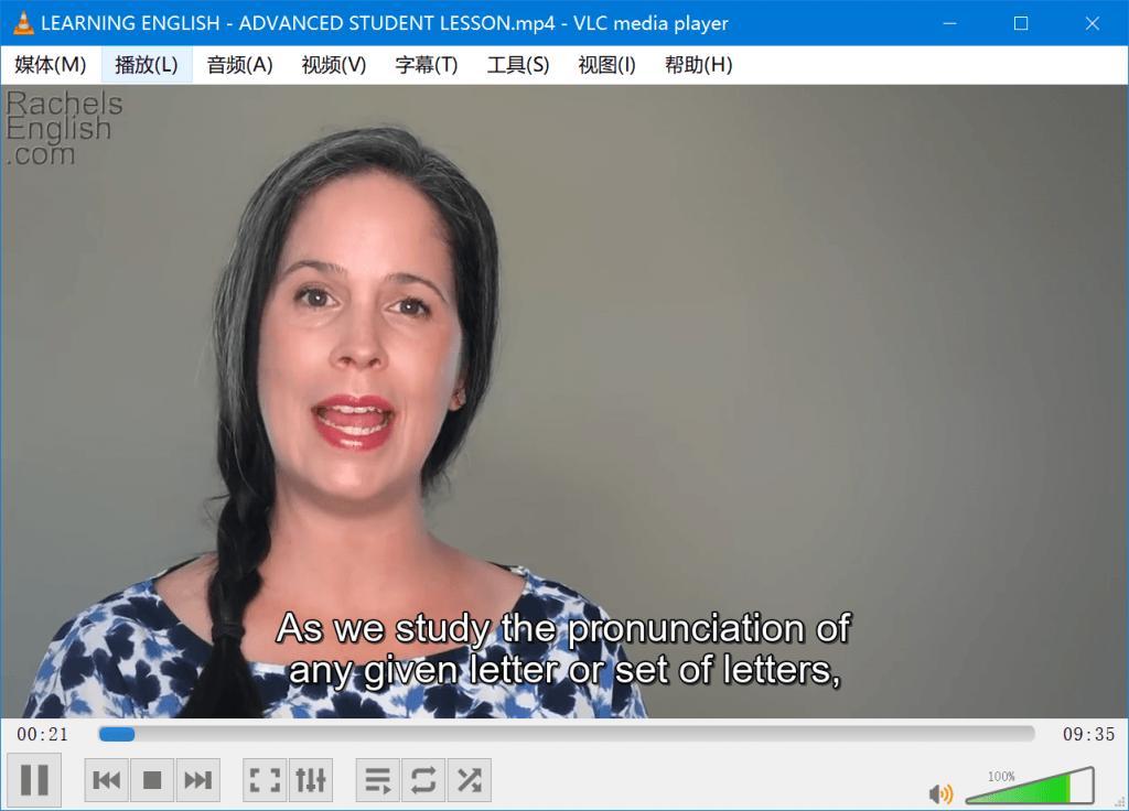 【视频】Rachel's English
