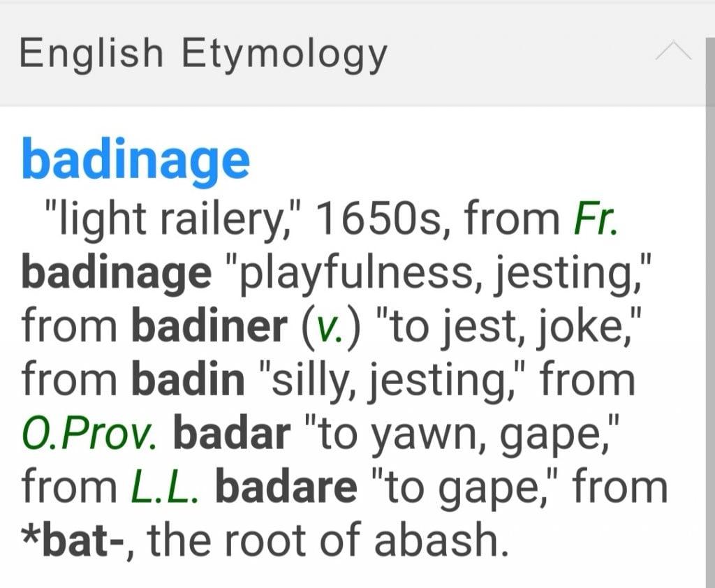英语词源词典 English Etymology