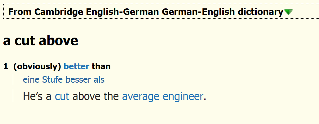 Cambridge English-German German-English dictionary