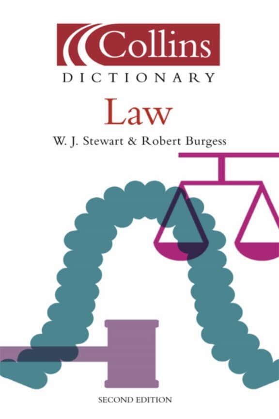 Collins Dictionary of Law 2ed